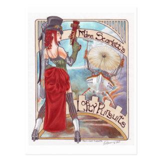 Red Light Flights postcard