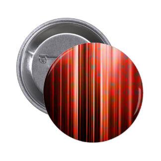 Red light streaks pattern 6 cm round badge