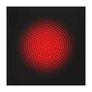 Red Light  Wall Canvas Stretched Canvas Prints