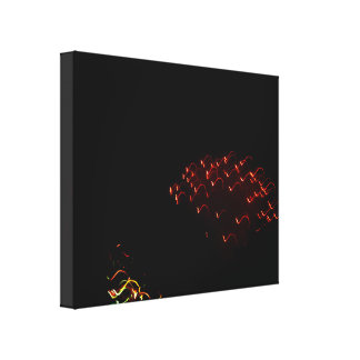 Red Lights Gallery Wrapped Canvas