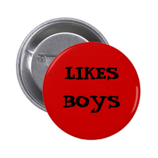RED LIKES BOYS BUTTON