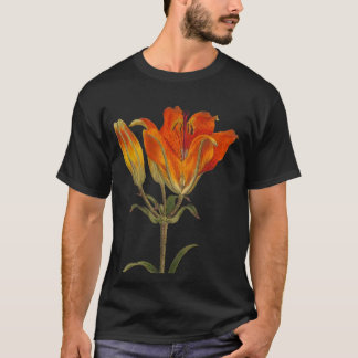RED LILIES (CLASSIC ILLUSTRATION) T-Shirt