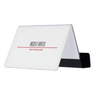 Red Line Business Card Set | Card Holder