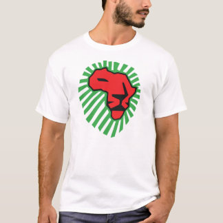 Red Lion Green Mane Waka Waka Africa Shirt