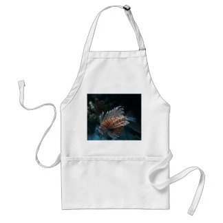 Red Lionfish Apron