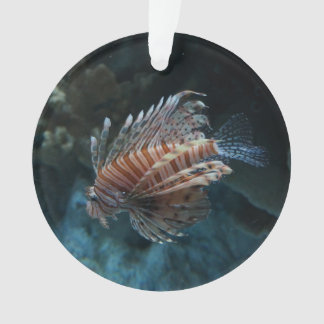 Red Lionfish Ornament