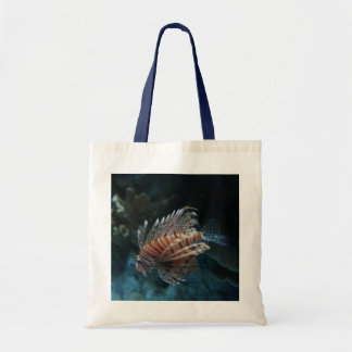 Red Lionfish Tote Bag