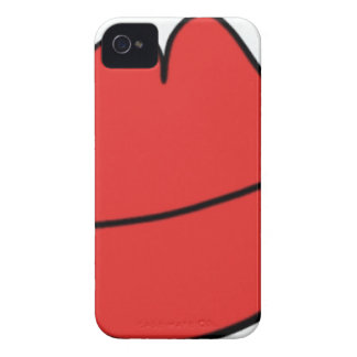Red Lips iPhone 4 Case-Mate Case