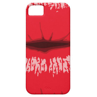 Red Lips iPhone 5 Cover
