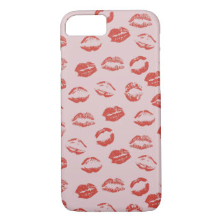 Red Lips iPhone 7 Case