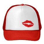 Red Lips Kiss Cap