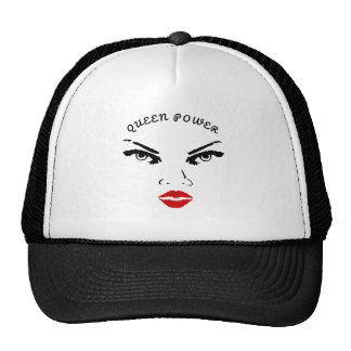 Red Lips Queen Power Cap