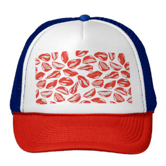 Red Lips ready to kiss Cap