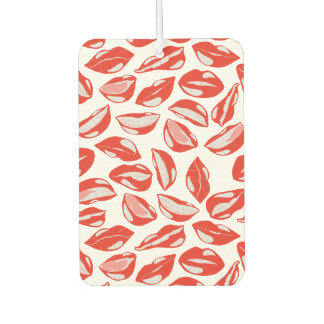 Red Lips ready to kiss Car Air Freshener