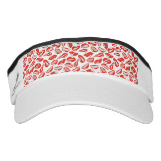 Red Lips ready to kiss Visor