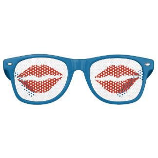 Red Lips Retro Sunglasses