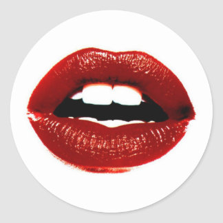 Red Lips Stickers