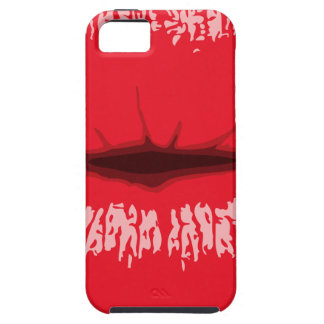 Red Lips Tough iPhone 5 Case
