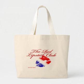 Red Lipstick Club Jumbo Tote Bag