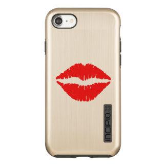 Red Lipstick Incipio DualPro Shine iPhone 8/7 Case