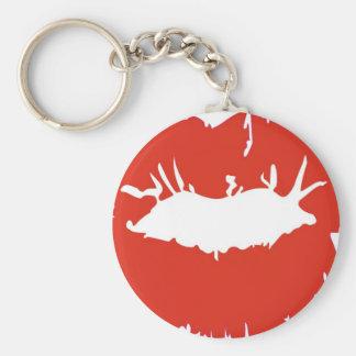 Red Lipstick Keychains