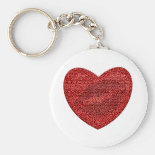 Red Lipstick Keychain