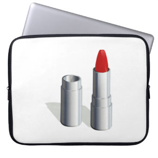 Red Lipstick Computer Sleeves
