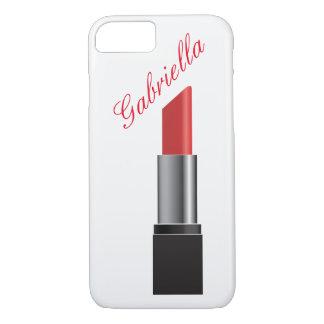 Red Lipstick Monogram iPhone 8/7 Case