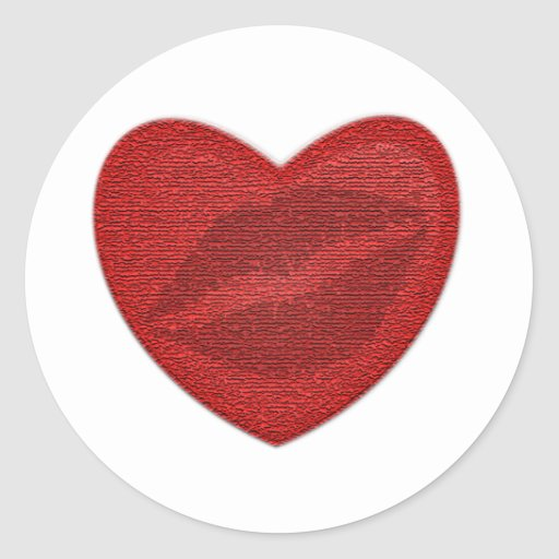 Red Lipstick Stickers