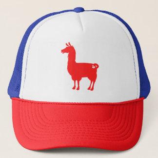 Red Llama Cap