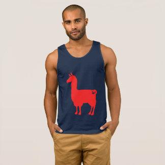 Red Llama Tank Top
