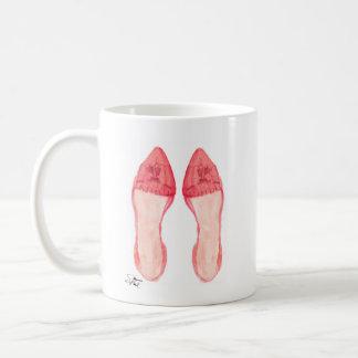 Red Loafer Shoe Art Mug