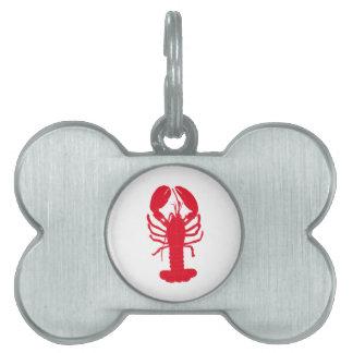 Red Lobster Tales Pet ID Tag