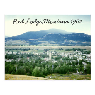 Red Lodge Montana Postcards