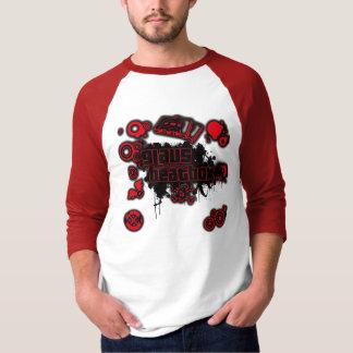 Red Logo Ringer T-Shirt