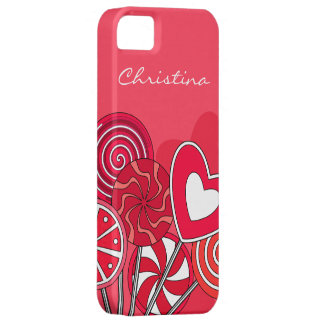 Red Lollipop iPhone 5 Case