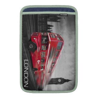 Red London bus mac book air case Sleeve For MacBook Air