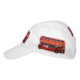 Red London Bus Themed Hat