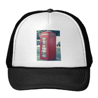 Red London Telephone Box Hat