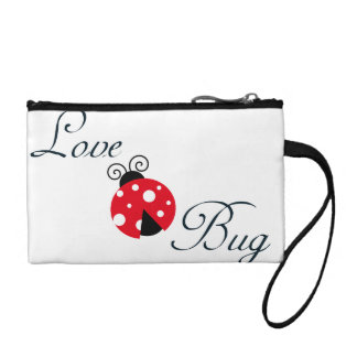Red Love Bug - Ladybug Coin Wallets