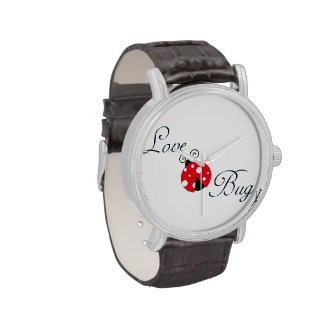 Red Love Bug - Ladybug Wristwatches
