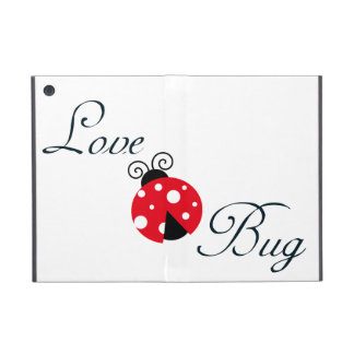 Red Love Bug - Ladybug iPad Mini Covers