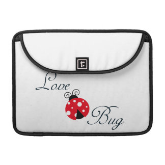 Red Love Bug - Ladybug Sleeves For MacBooks