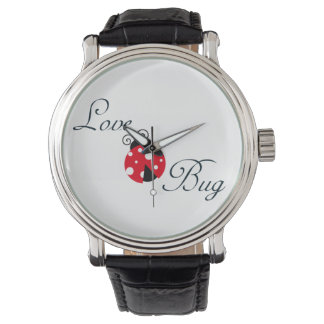 Red Love Bug - Ladybug Wristwatches