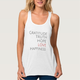 Red Love + Inspirational Tank