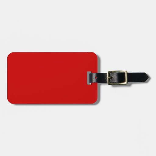 Red Travel Bag Tags