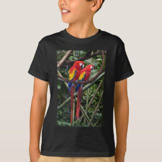 red macaws T-Shirt