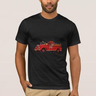 Red_Mack_Fire_truck_Texturized T-Shirt