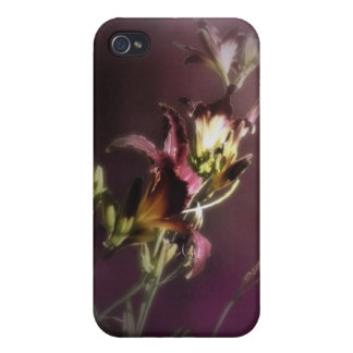 red magic day lilies 4 iPhone 4 covers
