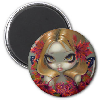 """Red Maple Fairy"" Magnet"
